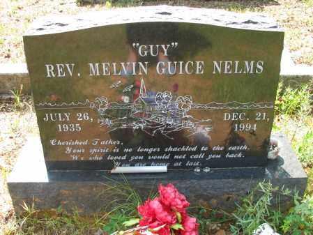 "NELMS, REV., MELVIN GUICE  ""GUY"" - Logan County, Arkansas   MELVIN GUICE  ""GUY"" NELMS, REV. - Arkansas Gravestone Photos"