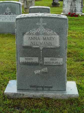 NEUMANN, ANNA - Logan County, Arkansas | ANNA NEUMANN - Arkansas Gravestone Photos