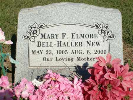 NEW, MARY F. ELMORE BELL HALLER - Logan County, Arkansas | MARY F. ELMORE BELL HALLER NEW - Arkansas Gravestone Photos