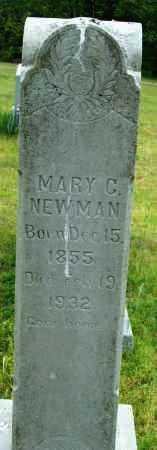 NEWMAN, MARY C. - Logan County, Arkansas | MARY C. NEWMAN - Arkansas Gravestone Photos