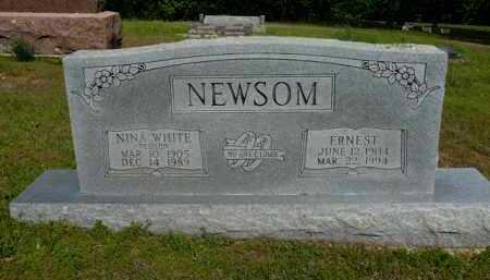 NEWSOM, ERNEST - Logan County, Arkansas   ERNEST NEWSOM - Arkansas Gravestone Photos