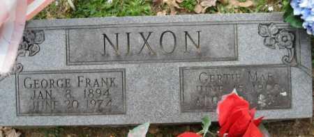 NIXON, GERTIE MAE - Logan County, Arkansas | GERTIE MAE NIXON - Arkansas Gravestone Photos