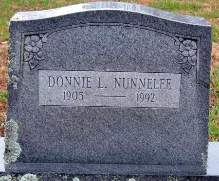 NUNNELEE, DONNIE L. - Logan County, Arkansas | DONNIE L. NUNNELEE - Arkansas Gravestone Photos