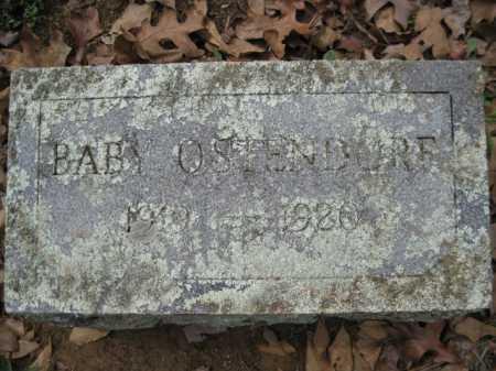 OSTENDORF, BABY - Logan County, Arkansas | BABY OSTENDORF - Arkansas Gravestone Photos