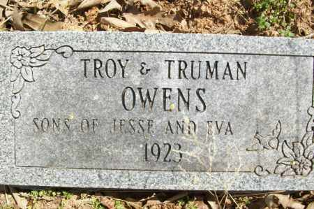 OWENS, TRUMAN - Logan County, Arkansas | TRUMAN OWENS - Arkansas Gravestone Photos