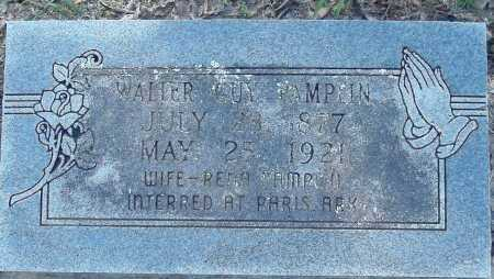 PAMPLIN, WALTER GUY - Logan County, Arkansas | WALTER GUY PAMPLIN - Arkansas Gravestone Photos