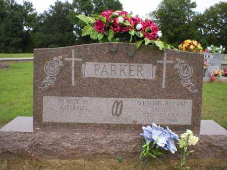 "PARKER, WILFORD BRYANT ""BARNEY"" - Logan County, Arkansas | WILFORD BRYANT ""BARNEY"" PARKER - Arkansas Gravestone Photos"