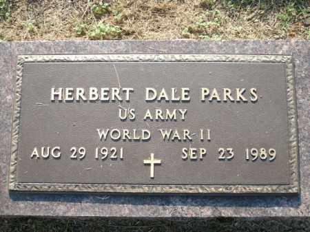 PARKS (VETERAN WWII), HERBERT DALE - Logan County, Arkansas   HERBERT DALE PARKS (VETERAN WWII) - Arkansas Gravestone Photos