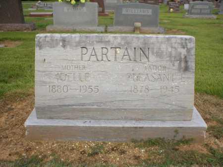 PARTAIN, IDELLE - Logan County, Arkansas | IDELLE PARTAIN - Arkansas Gravestone Photos