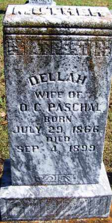 PASCHAL, DELLAH - Logan County, Arkansas | DELLAH PASCHAL - Arkansas Gravestone Photos