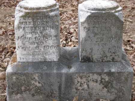 PATTERSON, JESTON CLEBORN - Logan County, Arkansas   JESTON CLEBORN PATTERSON - Arkansas Gravestone Photos