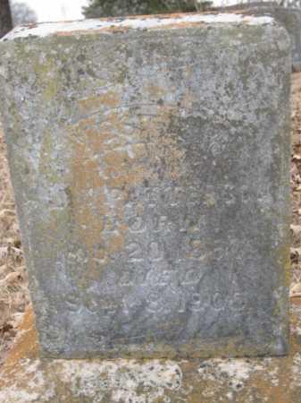 PATTERSON, VESTA M - Logan County, Arkansas | VESTA M PATTERSON - Arkansas Gravestone Photos