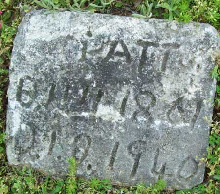 PATTON, UNKNOWN - Logan County, Arkansas | UNKNOWN PATTON - Arkansas Gravestone Photos