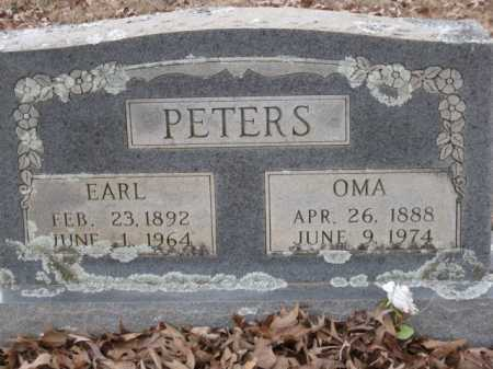 PETERS, EARL - Logan County, Arkansas | EARL PETERS - Arkansas Gravestone Photos