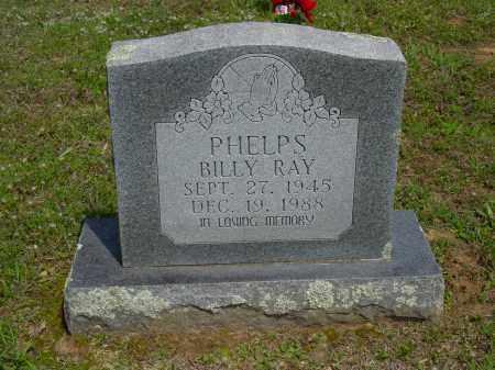 PHELPS, BILLY RAY - Logan County, Arkansas | BILLY RAY PHELPS - Arkansas Gravestone Photos