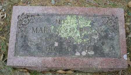 PLANK, MARY ANN - Logan County, Arkansas | MARY ANN PLANK - Arkansas Gravestone Photos