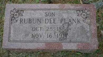 PLANK, RUBUN DEE - Logan County, Arkansas | RUBUN DEE PLANK - Arkansas Gravestone Photos