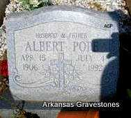 POPE, ALBERT - Logan County, Arkansas | ALBERT POPE - Arkansas Gravestone Photos