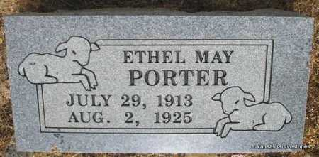 PORTER, ETHEL MAY - Logan County, Arkansas | ETHEL MAY PORTER - Arkansas Gravestone Photos