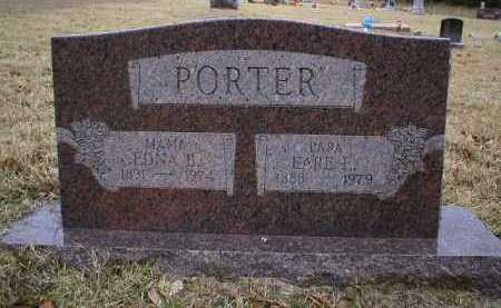 PORTER, EDNA B - Logan County, Arkansas   EDNA B PORTER - Arkansas Gravestone Photos