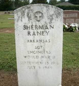RANEY (VETERAN WWII), SHERMAN - Logan County, Arkansas | SHERMAN RANEY (VETERAN WWII) - Arkansas Gravestone Photos