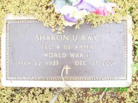 RAY (VETERAN WWII), SHARON U - Logan County, Arkansas | SHARON U RAY (VETERAN WWII) - Arkansas Gravestone Photos