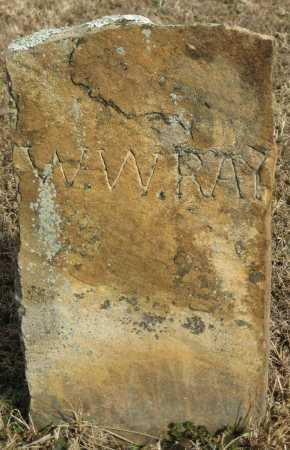 RAY, W. W. - Logan County, Arkansas | W. W. RAY - Arkansas Gravestone Photos
