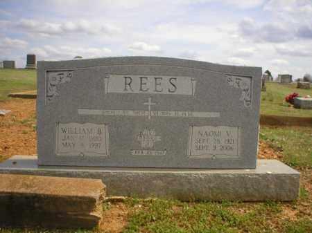 REES, NAOMI V. - Logan County, Arkansas | NAOMI V. REES - Arkansas Gravestone Photos