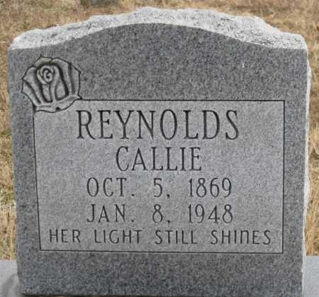 REYNOLDS, CALLIE - Logan County, Arkansas | CALLIE REYNOLDS - Arkansas Gravestone Photos