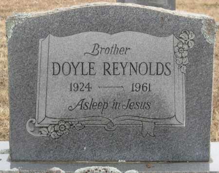REYNOLDS, DOYLE - Logan County, Arkansas   DOYLE REYNOLDS - Arkansas Gravestone Photos