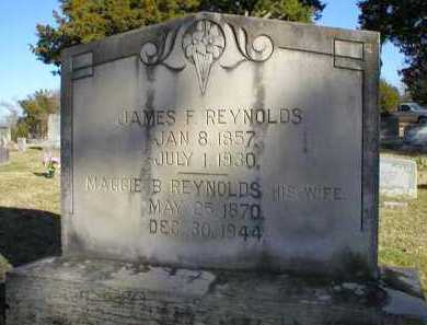 REYNOLDS, JAMES F - Logan County, Arkansas | JAMES F REYNOLDS - Arkansas Gravestone Photos