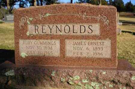 REYNOLDS, JAMES ERNEST - Logan County, Arkansas | JAMES ERNEST REYNOLDS - Arkansas Gravestone Photos