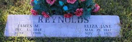 REYNOLDS, JAMES M. - Logan County, Arkansas   JAMES M. REYNOLDS - Arkansas Gravestone Photos