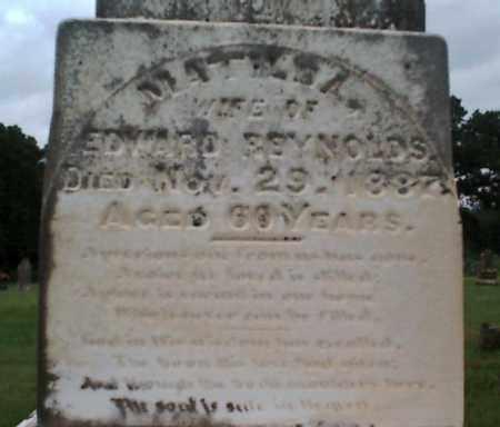 REYNOLDS, MATILDA - Logan County, Arkansas   MATILDA REYNOLDS - Arkansas Gravestone Photos