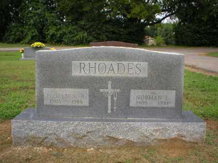 RHOADES, FLORENCE - Logan County, Arkansas | FLORENCE RHOADES - Arkansas Gravestone Photos