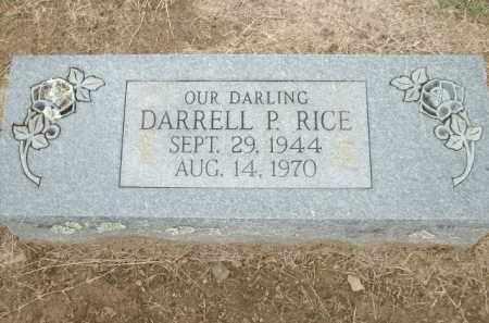 RICE, DARRELL P. - Logan County, Arkansas | DARRELL P. RICE - Arkansas Gravestone Photos