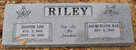 RILEY, DANNIE LEE - Logan County, Arkansas | DANNIE LEE RILEY - Arkansas Gravestone Photos