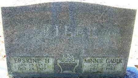 RILEY, ERSKINE H - Logan County, Arkansas | ERSKINE H RILEY - Arkansas Gravestone Photos