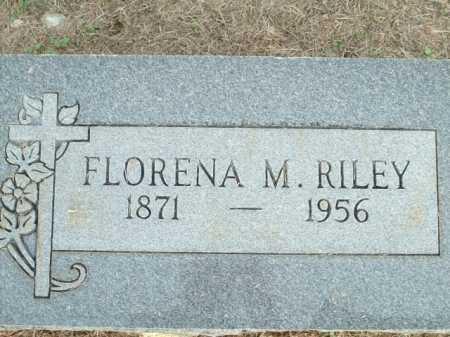 RILEY, FLORENA M. - Logan County, Arkansas | FLORENA M. RILEY - Arkansas Gravestone Photos