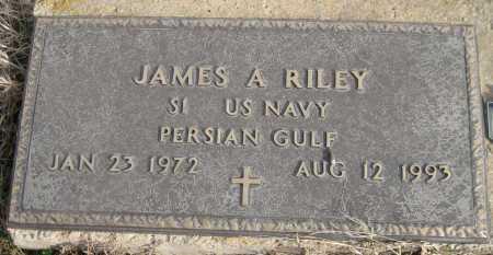 RILEY (VETERAN PGW), JAMES A - Logan County, Arkansas | JAMES A RILEY (VETERAN PGW) - Arkansas Gravestone Photos