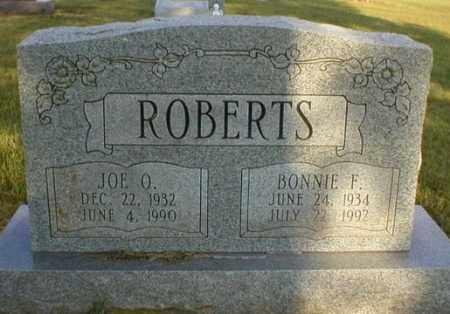ROBERTS, BONNIE F - Logan County, Arkansas | BONNIE F ROBERTS - Arkansas Gravestone Photos