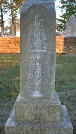 ROBERTS, NANCY - Logan County, Arkansas | NANCY ROBERTS - Arkansas Gravestone Photos