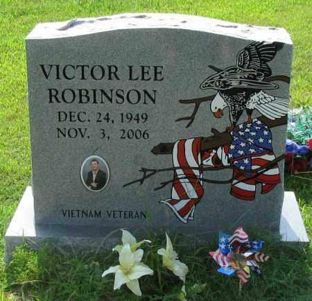 ROBINSON, VICTOR LEE - Logan County, Arkansas | VICTOR LEE ROBINSON - Arkansas Gravestone Photos