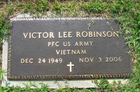 ROBINSON (VETERAN VIET), VICTOR LEE - Logan County, Arkansas | VICTOR LEE ROBINSON (VETERAN VIET) - Arkansas Gravestone Photos