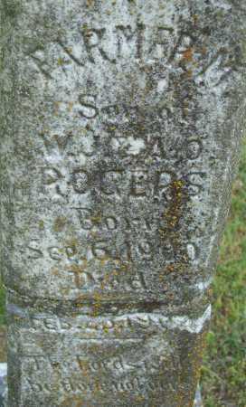 ROGERS, FARMER M. - Logan County, Arkansas | FARMER M. ROGERS - Arkansas Gravestone Photos
