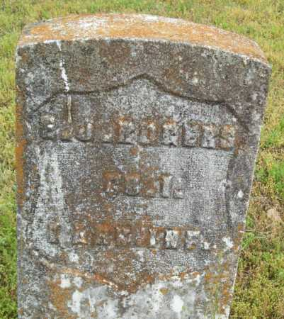 ROGERS (VETERAN UNION), E J - Logan County, Arkansas   E J ROGERS (VETERAN UNION) - Arkansas Gravestone Photos
