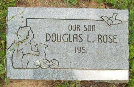 ROSE, DOUGLAS L. - Logan County, Arkansas | DOUGLAS L. ROSE - Arkansas Gravestone Photos