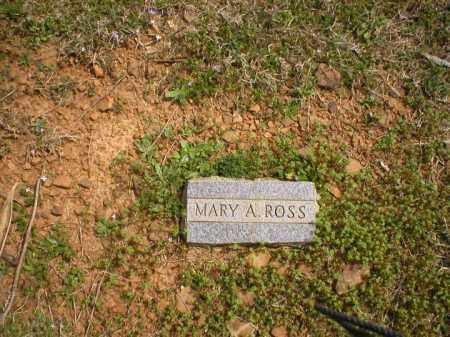 ROSS, MARY A. - Logan County, Arkansas   MARY A. ROSS - Arkansas Gravestone Photos