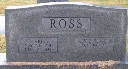 ROSS, O. ARLIS - Logan County, Arkansas | O. ARLIS ROSS - Arkansas Gravestone Photos