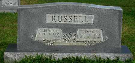 RUSSELL, CARLOUS C - Logan County, Arkansas | CARLOUS C RUSSELL - Arkansas Gravestone Photos